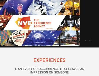 experiencenve.com screenshot