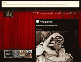 classiccinemaonline.com screenshot