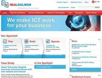 realdolmen.com screenshot