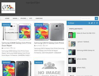 gsmallphonefirmware.blogspot.com screenshot