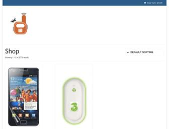 Main page screenshot of mobile-phone-deals-4u.co.uk
