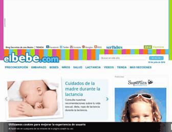 elbebe.com screenshot