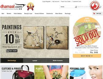 Thumbshot of Dhamaal.com