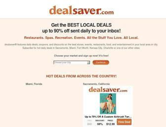 Thumbshot of Dealsaver.com