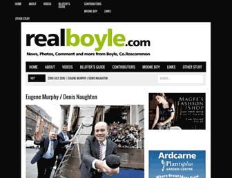 realboyle.com screenshot