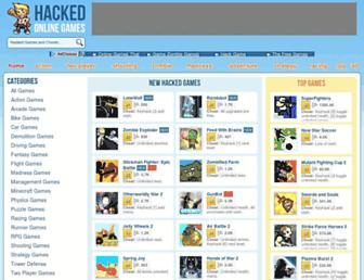 hackedonlinegames.com screenshot