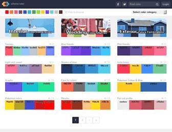 schemecolor.com screenshot