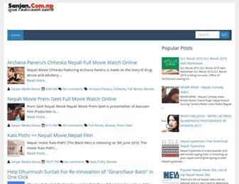 sanjan.com.np screenshot