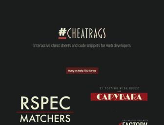 cheatrags.com screenshot