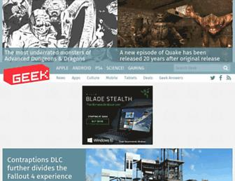 geek.com screenshot