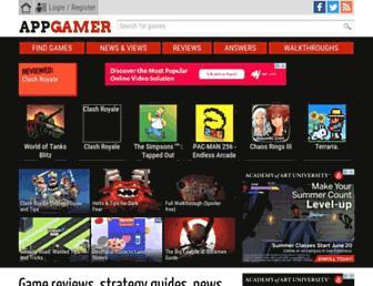 appgamer.com screenshot