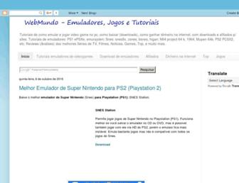 webmundo.net screenshot