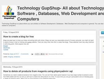tech-gupshup.blogspot.com screenshot