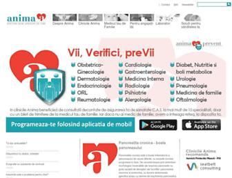clinica-anima.ro screenshot