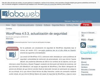 daboweb.com screenshot