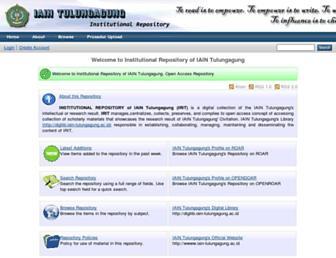 repo.iain-tulungagung.ac.id screenshot
