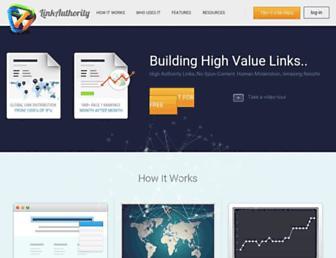 Thumbshot of Linkauthority.com