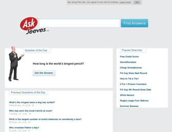 uk.ask.com screenshot