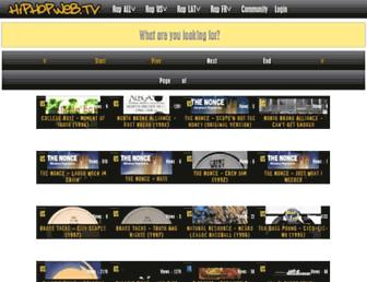 hiphopweb.tv screenshot