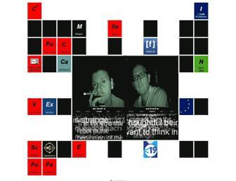 Main page screenshot of c3.hu