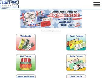 admitoneproducts.com screenshot