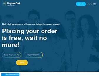 papersowl.com screenshot