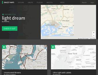 snazzymaps.com screenshot