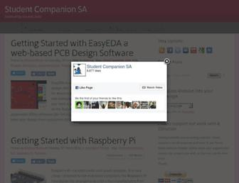 studentcompanion.co.za screenshot