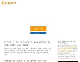 clipperz.is screenshot