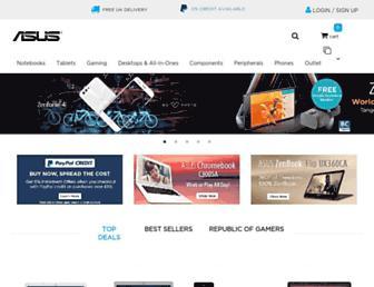 uk.store.asus.com screenshot