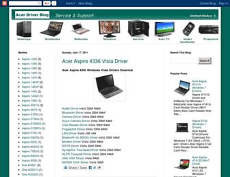 drivers-acer.blogspot.com screenshot