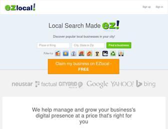 Thumbshot of Ezlocal.com