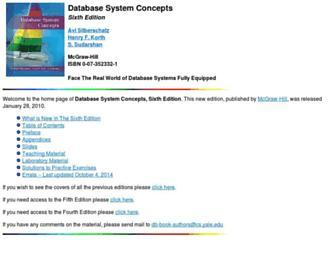 db-book.com screenshot