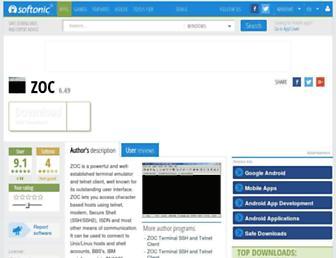 zoc.en.softonic.com screenshot