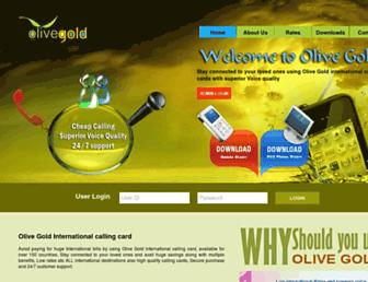 olivegold.us screenshot