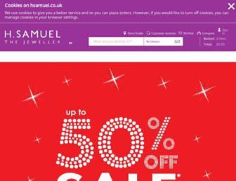hsamuel.co.uk screenshot