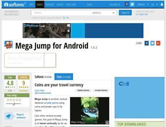mega-jump.en.softonic.com screenshot