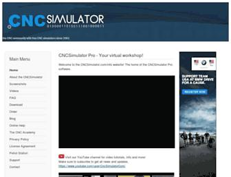 cncsimulator.info screenshot