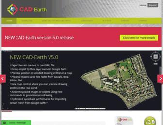 cad-earth.com screenshot