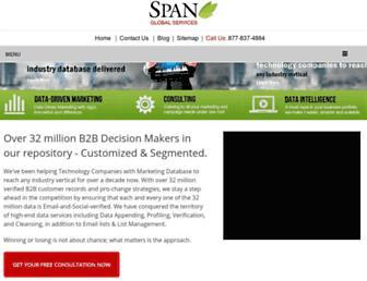 spanglobalservices.com screenshot