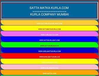 sattamatkakurla.com screenshot