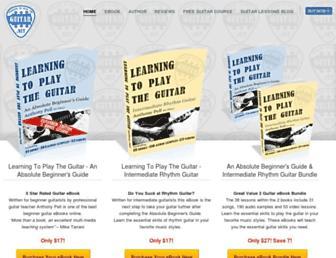 learningtoplaytheguitar.net screenshot