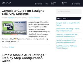geekhax.com screenshot