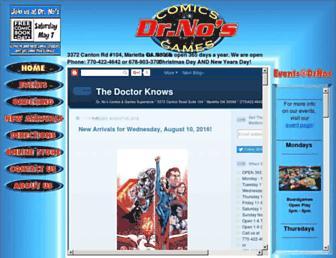 drnos.com screenshot