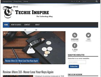techieinspire.com screenshot