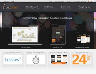 Thumbshot of Fastcase.com