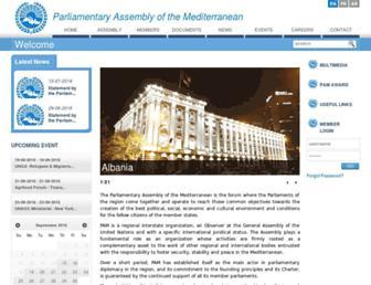 pam.int screenshot