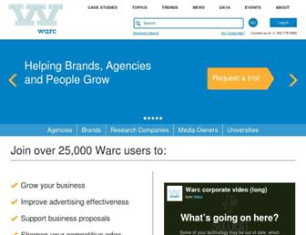 Thumbshot of Warc.com