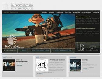 Thumbshot of Lev-communication.fr
