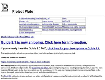 projectpluto.com screenshot